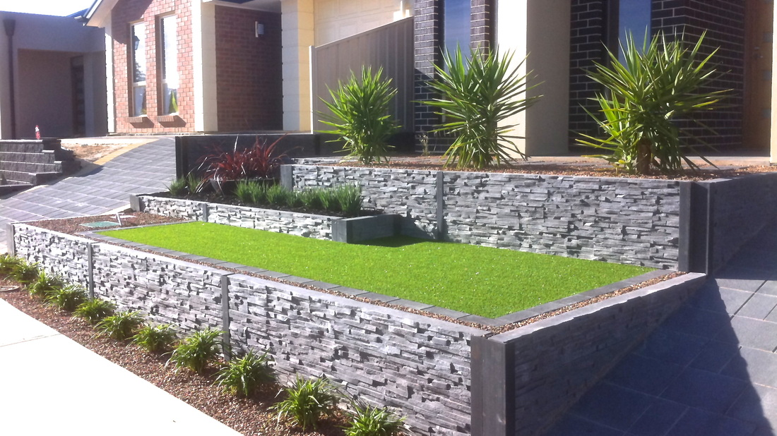 Portfolio garden design landscaping projects for Gardening services adelaide